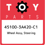 45100-3a420-c1 Toyota Wheel Assy Steering 451003a420c1 New Genuine Oem Part