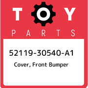 52119-30540-a1 Toyota Cover Front Bumper 5211930540a1 New Genuine Oem Part