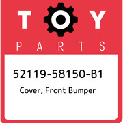 52119-58150-b1 Toyota Cover Front Bumper 5211958150b1 New Genuine Oem Part
