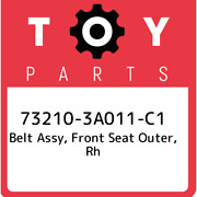 73210-3a011-c1 Toyota Belt Assy Front Seat Outer Rh 732103a011c1 New Genuine
