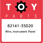 82141-35d20 Toyota Wire Instrument Panel 8214135d20 New Genuine Oem Part