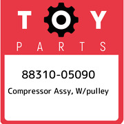 88310-05090 Toyota Compressor Assy W/pulley 8831005090 New Genuine Oem Part