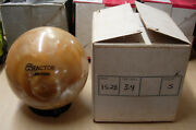 15.28 Tw 3.4 Star Trak Reactor Urethane Silver Pearl Bowling Ball Made In Usa