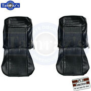 63-64 Chevy Ii Nova Ss Front Bucket And Rear Seat Covers Upholstery - Pui New