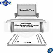 66-77 Ford Bronco Half Cab Roof / Sail Panel And Dril Rail Channel Set - Dynacorn