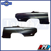 69 Dodge Dart Oe Style Rear Quarter Panel Amd - Pair Lh And Rh New