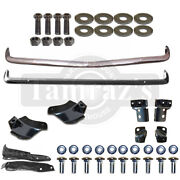 1967 Camaro Front And Rear Bumper Kit W/ Frame Brackets Bolts Mounts Hardware
