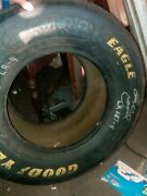 Dale Earnhardt Sr. Autographed Tire Goodyear Eagle Racing Signed Charlotte N.c.