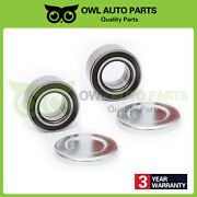 Front Wheel Hub Bearing And Axle Cover Ford Focus 2000-2011 Left And Right Pair Of 2