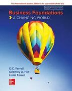 Ise Business Foundations A Changing World By O.c. Ferrell Paperback Book Free S
