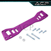 For 02-06 Rsx Dc5/ -05 Civic Si Rear Chassis Tie Subframe Brace Bar Support Purp