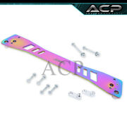 For 92-95 Civic 93-97 Del Sol Rear Chassis Subframe Brace Bar Center Support Neo