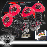 Height Adjustable Coilover Damping System Assembly Set For 05-07 Impreza Wrx Sti