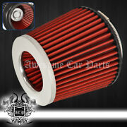 For Toyota 4 Performance Cars Automotive Truck Suv Dry Air Filter Intake Chrome
