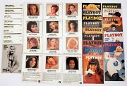 37 Playboy Magazine Collector's Cards In Good Shape Includes Pamela Anderson