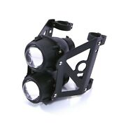 Motorcycle Headlight Set Streetfighter Projector Dual Lights For 50/51mm Forks