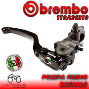 Brembo 19rcs Front Brake Master Cylinder Racing Motorcycle 19mm X 18 - 20 Ratio