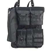 Tactical Molle Car Seat Organizer For The Back Of The Seat Kit-1