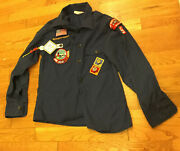 Chief Seattle Council Patch Bsa Cub Scout Shirt With Other Patches No Size