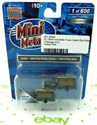 N Scale 1954 Ford Bottle Trucks 2 Pcs - Dadand039s Root Beer - Mini Metals 50384