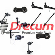10pc Front Sway Bar Tie Rod Ball Joint Kit For Subaru Baja Legacy Outback