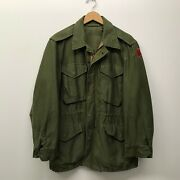 Vintage Us Army M51 Field Jacket 1950and039s Small/regular B-92