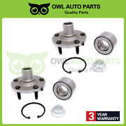 518515 X2 Front Wheel Bearing Hub For 2001 2002 2003 2004 2005 2006 Ford Escape