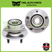 Front Wheel Bearing And Hub Pair Set Of 2 For 1994-1999 Dodge Ram 1500 4wd 515006