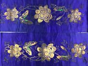 Antique Chinese Embroidery Of Official Clothes Qing Dynasty 1644-1911