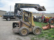 Hydraulic Lift Cylinder For Boom Off A New Holland L553 Skid Steer