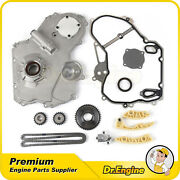 Timing Chain Kit Oil Pump Cover Gasket For 00-10 Pontiac Chevy Saturn 2.0 2.2l