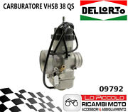 09792 Carburettor Dell'orto Vhsb 38 Racing Valve Flat Motorcycle 4 Times
