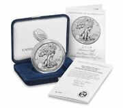 American Eagle 2019 One Ounce Silver Enhanced Reverse Proof Coin In-hand