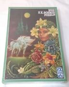 1000 Pc Fx Schmid Puzzle Flower Fairy New Sealed In Box Vintage West Germany