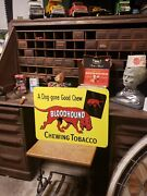 Big Bloodhound Chewing Tobacco Sign Cigaret Pipe Nicotine Store Free Shipping