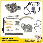 For 00-08 Chevrolet Cobalt 2.2 Dohc Timing Chain Water Pump Kit Oil Cover Gasket