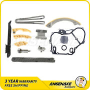 Timing Chain Cover Gasket Kit For 00-08 Buick Saturn Chevy Hhr Cobalt 2.0-2.4l