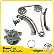 For 1998 Toyota Corolla Chevrolet Prizm 1.8l 1zzfe Timing Chain Water Pump Kit