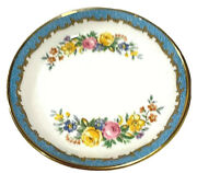 Crown Staffordshire 1930andrsquos Bone China Small 4andrdquo Round Berry-pin Bowl Antique