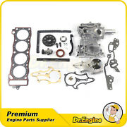 Timing Chain Cover Kit Water Pump Fit 85-95 Toyota 4runner Pickup L4 Dohc 22rec