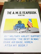 Usaf 611th Military Airlift Support Squadron Mac Osan Ab Korea 1979 Yearbook