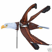 Flying Eagle Staked Wind Spinner With Pole And Ground Mount ..29.....pr 25108