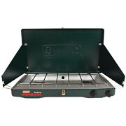 Coleman 2-burner Portable Propane Gas Stove 10,000 Btu Outdoor Cooking Camping
