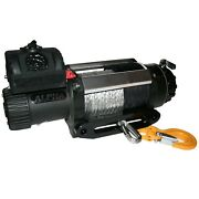 Bulldog Winch 10028 12500lb Alpha Series Winch With 100ft Synthetic Rope