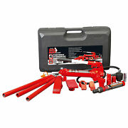 Torin T70401s 4 Ton Porta Power Hydraulic Ram Body Frame Repair Kit And Carry Case