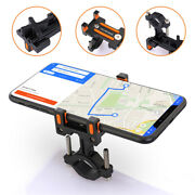 Iphone Android Gps Bike Phone Mount Anti Shake Stable Clamp With 360anddeg Rotation