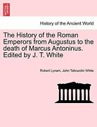 The History Of The Roman Emperors From Augustus, Lynam, Robert Pf,,