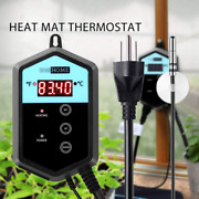 1000w Digital Thermostat Temperature Controller For Seed Germination Reptiles