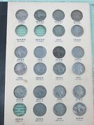 Buffalo Nickel Set All Natural Dates In Album 1913-1938 60 Coins Missing 3 Q4aa