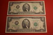 2003 2 Two Dollar Bill Federal Reserve Note 6